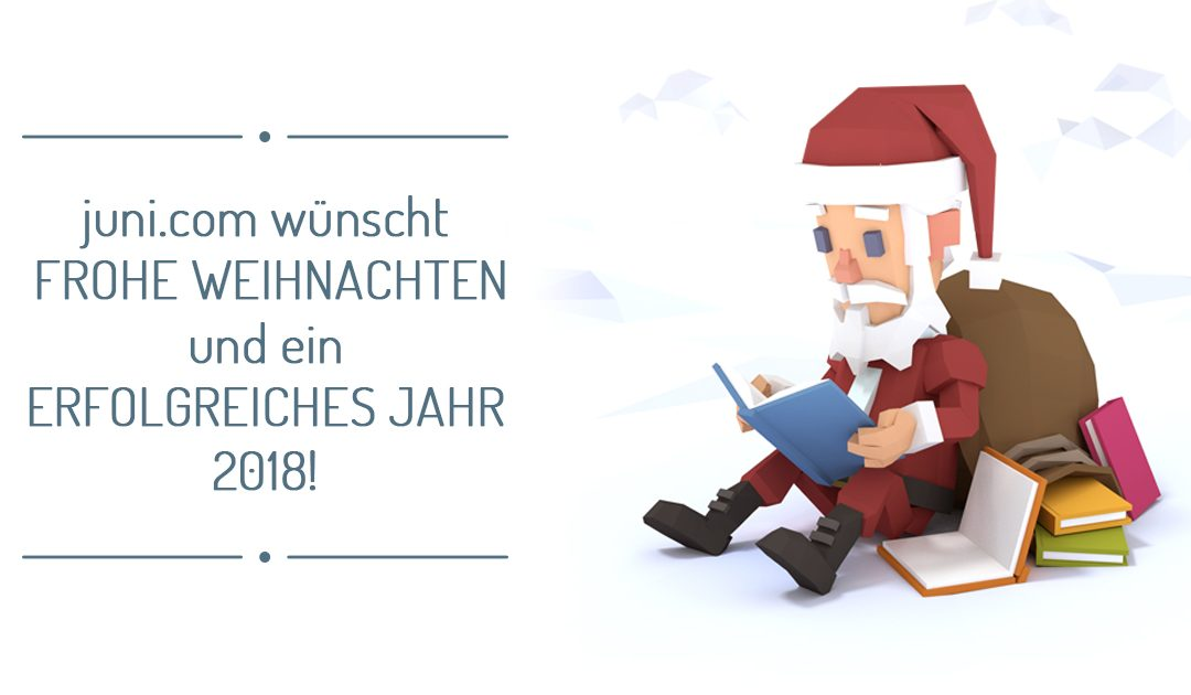 Wir wünschen frohe Weihnachten und ein erfolgreiches neues Jahr ...