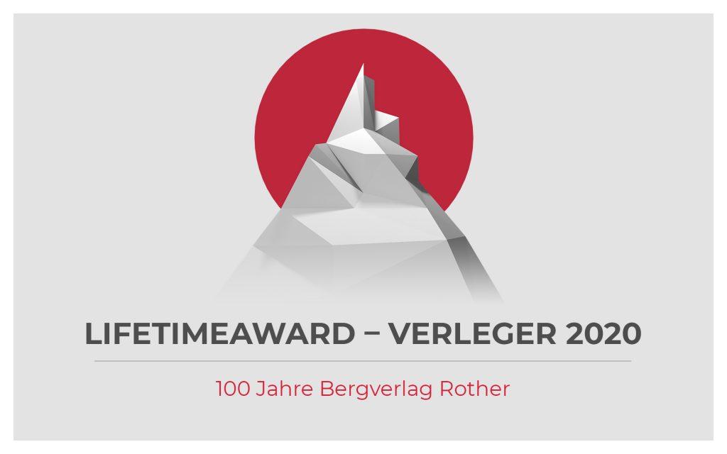Lifetime Award für unseren Kunden Bergverlag Rother